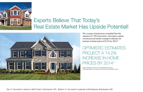 Experts Believe That Today's Preal Estate Market Has Upside Potential